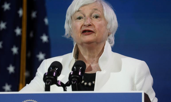 耶伦:需采取紧急行动来防止美国经济衰退