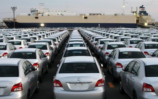 日本8月出口下降14.8% 对华出口增长5.1%