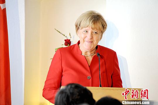 資料圖:德國總理默克爾。中新社記者 彭大偉 攝