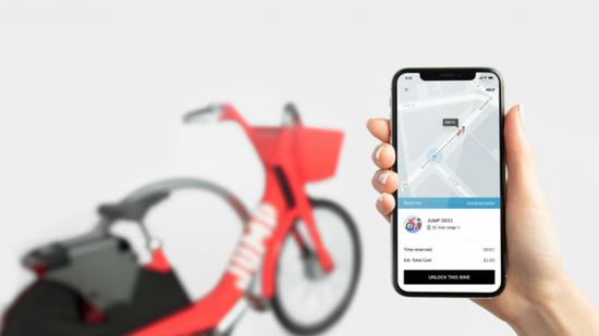 Uber将在旧金山市上线共享单车 半小时2美元Uber