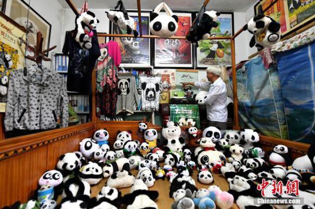 """福州""""熊猫文化艺术馆""""万余件藏品琳琅满目"""