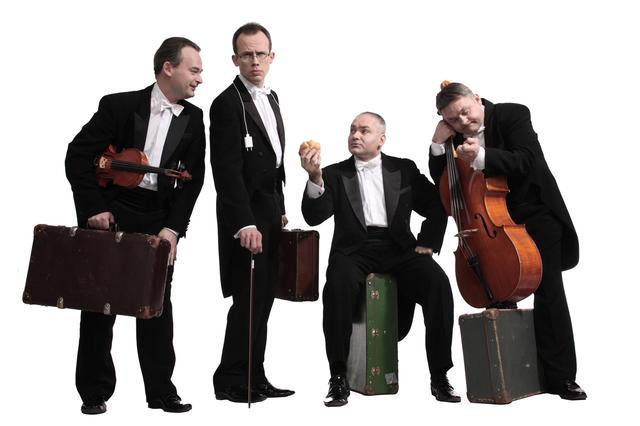 波兰弦乐四剑客即将登鹭 无限创意重释古典音乐