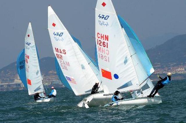 漳浦籍运动员船帆板卢云秀取得奥运会入场券