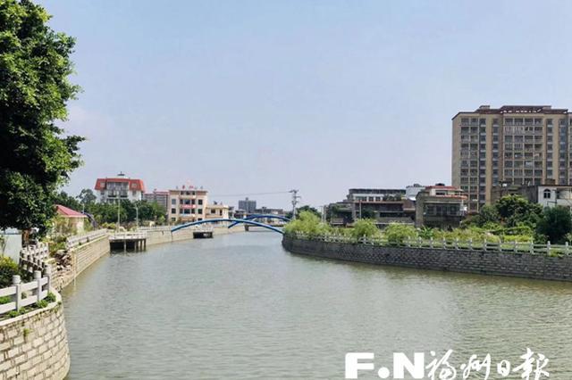 福州长乐金峰镇持续提升人居环境 水域治理还水清岸绿