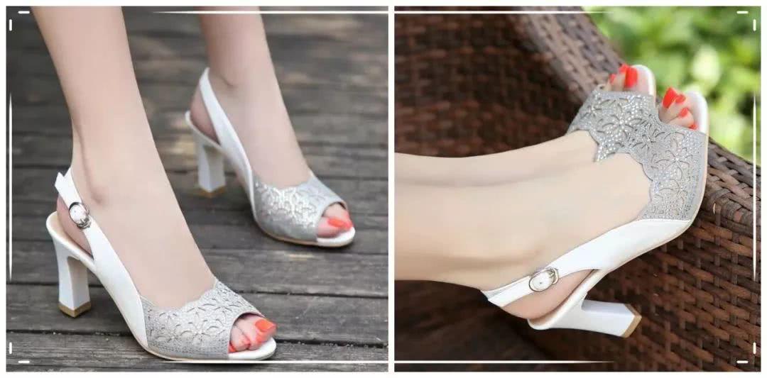 百麗夏季時尚中高跟女鞋,總有一款你會喜歡