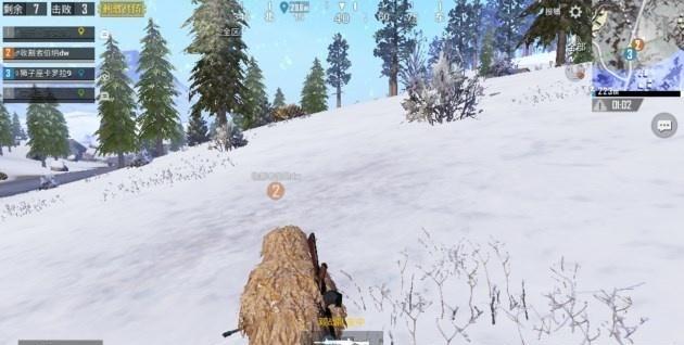 刺激戰場:雪地地圖已上線了,不過游戲內這枯草吉利服是什么鬼?圖片