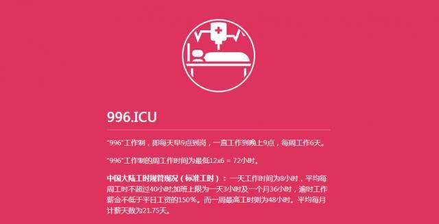 """中国程序员集体抗议""""996""""工作制 40多家互联网公司实行"""