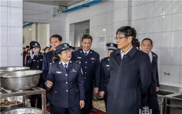 哈尔滨女子监狱_省政协副主席赵雨森一行到哈尔滨监狱和女子监狱视察调研