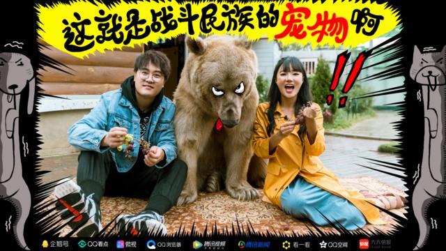 壮熊玩肌肉男-摔角 宠物 壮汉 熊