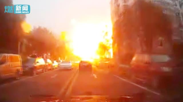 惊呆!苏州一小区发生爆燃火球漫过半边街道 有3名伤者送医