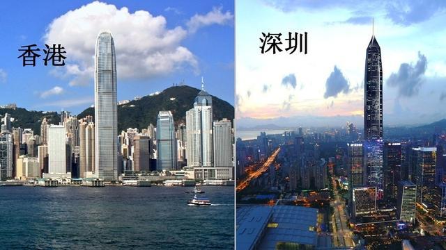 深圳GDP超香港_深圳gdp超香港,2018年生产总值为24221亿元,成为华南第一城!