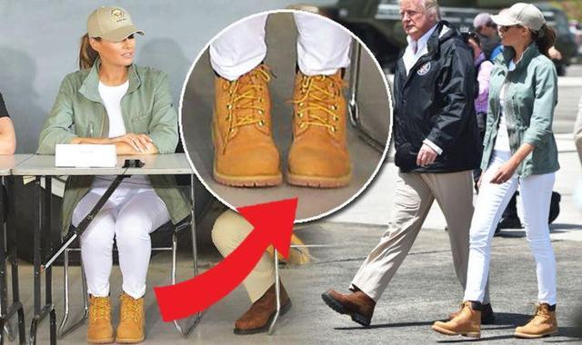 奥巴马夫人的大金靴与梅拉尼娅的Timberland,能比吗?|米歇尔|梅拉尼娅|奥巴马_新浪新闻