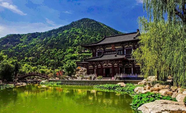 西安華清池文化:華清宮芙蓉園,華清池溫泉,唐御湯遺址圖片