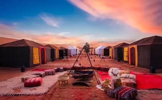 北非美少妇艳照_这里有异域风情的体验,住沙漠帐篷,逛当地集市,游皮革染坊,北非风情跃