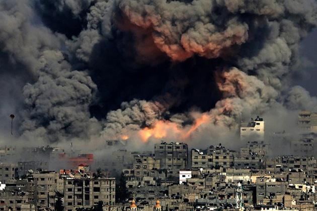 巴以冲突_巴以冲突已无法调节,神秘导弹迫使以色列同意停火,国防部长辞职
