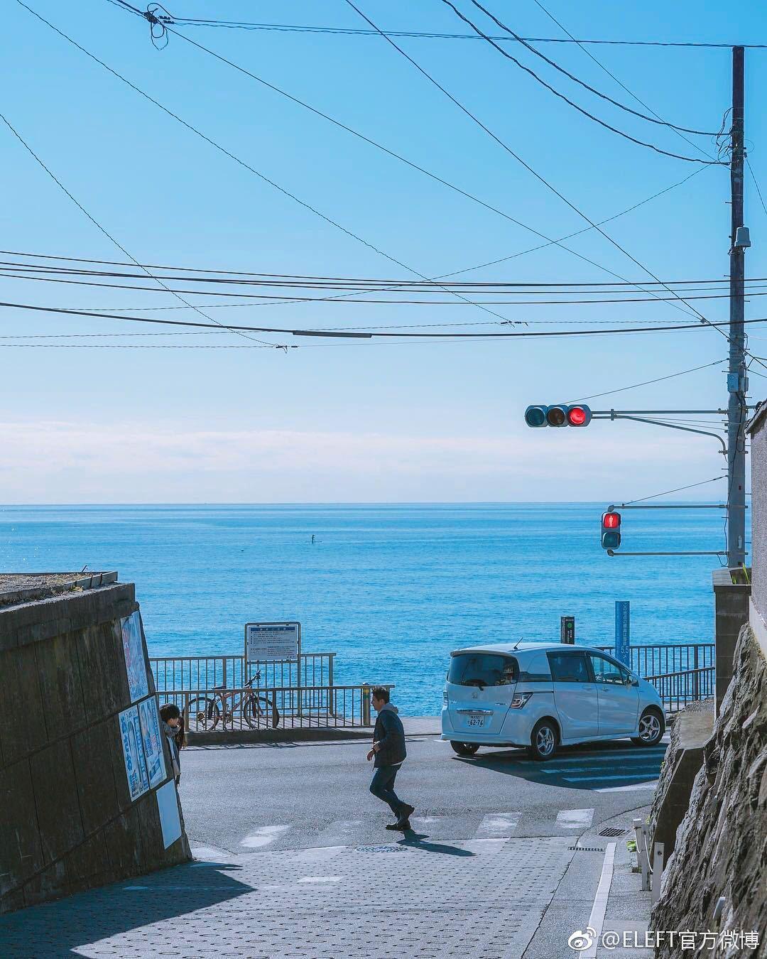 吹镰仓的海风,走樱木花道走过的路