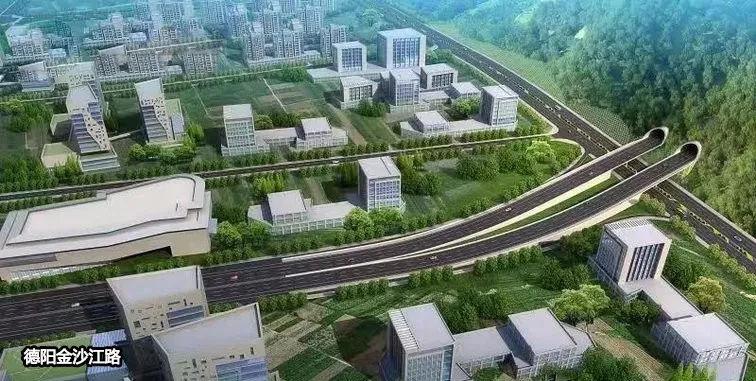 什德中快速通道預計2021年建成,20分鐘飆攏中江看表妹圖片