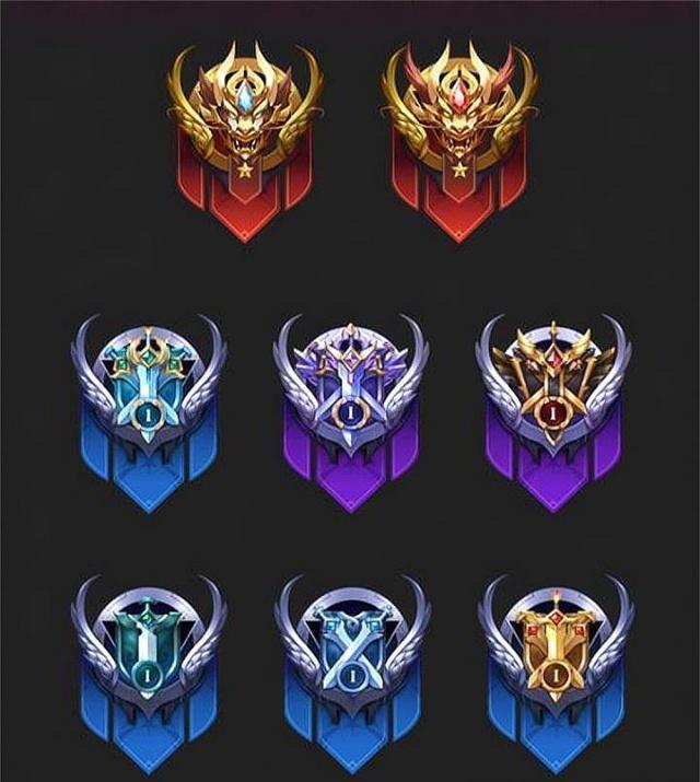 王者榮耀:新賽季,新征程,新皮膚,還有全新的段位圖標!圖片