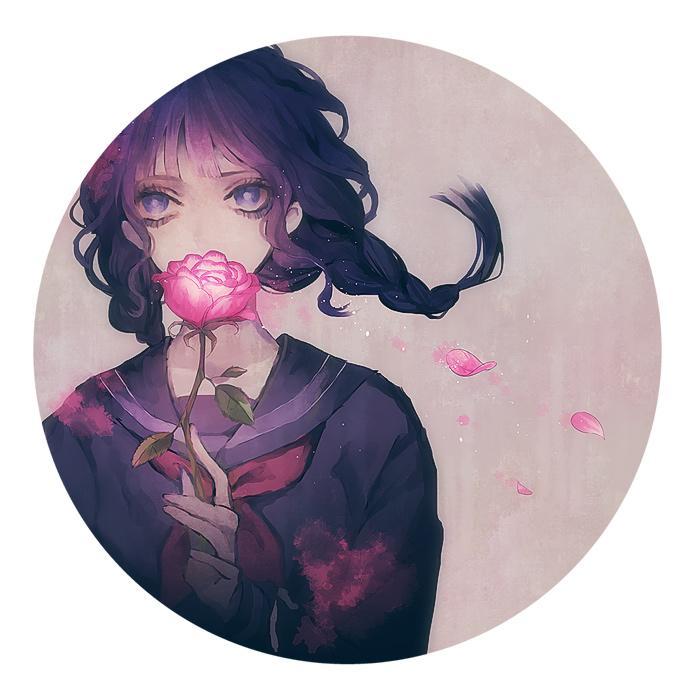 双重治愈!唯美清新的花与少女特辑二次元女生头像欣赏