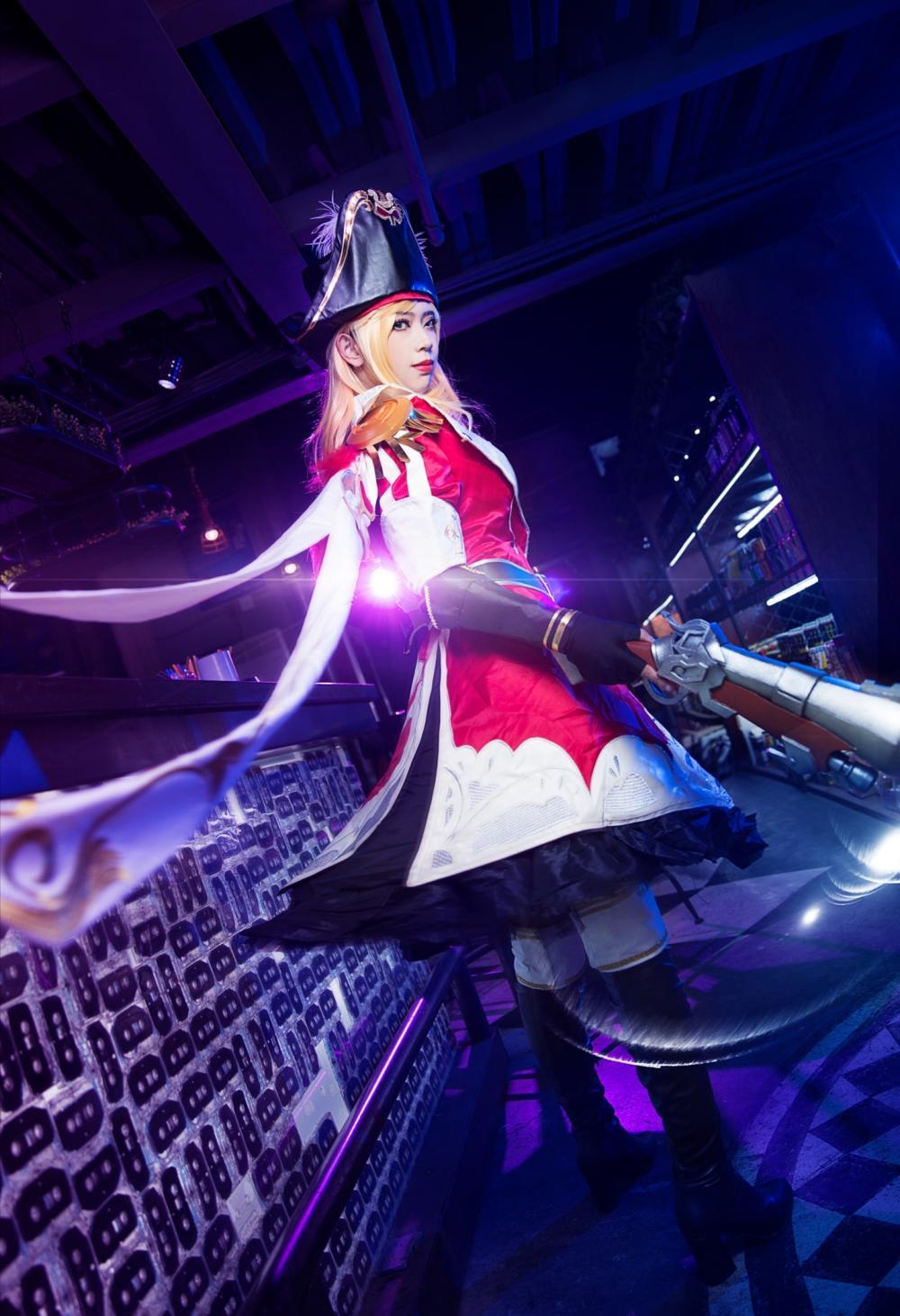 王者榮耀虞姬加勒比小姐cosplay 明媚如風! 輕盈似箭!圖片