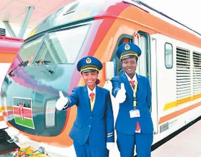 肯尼亚蒙内铁路列车员点赞中国铁路装备和技术