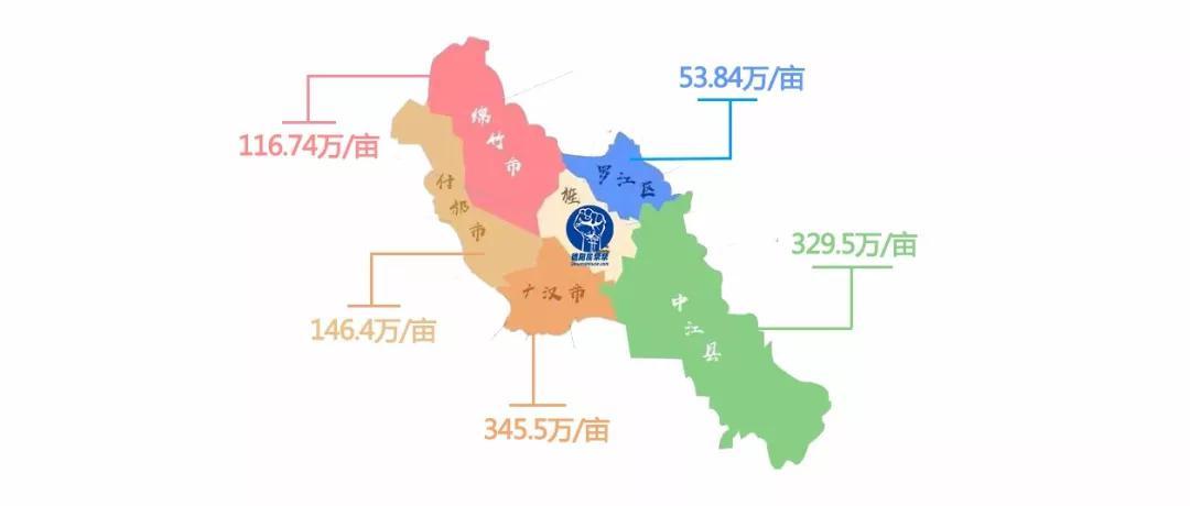 中江县地图全貌