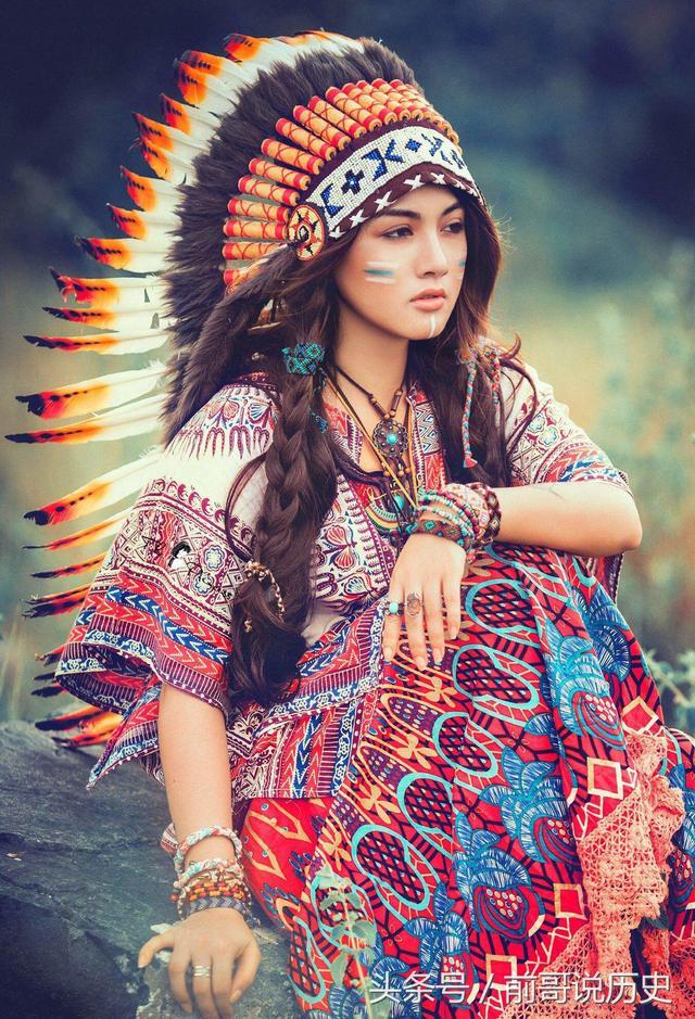 印第安人恨美国人_人类悲惨史:美国人到底屠杀了多少印第安人? 【猫眼看人 ...