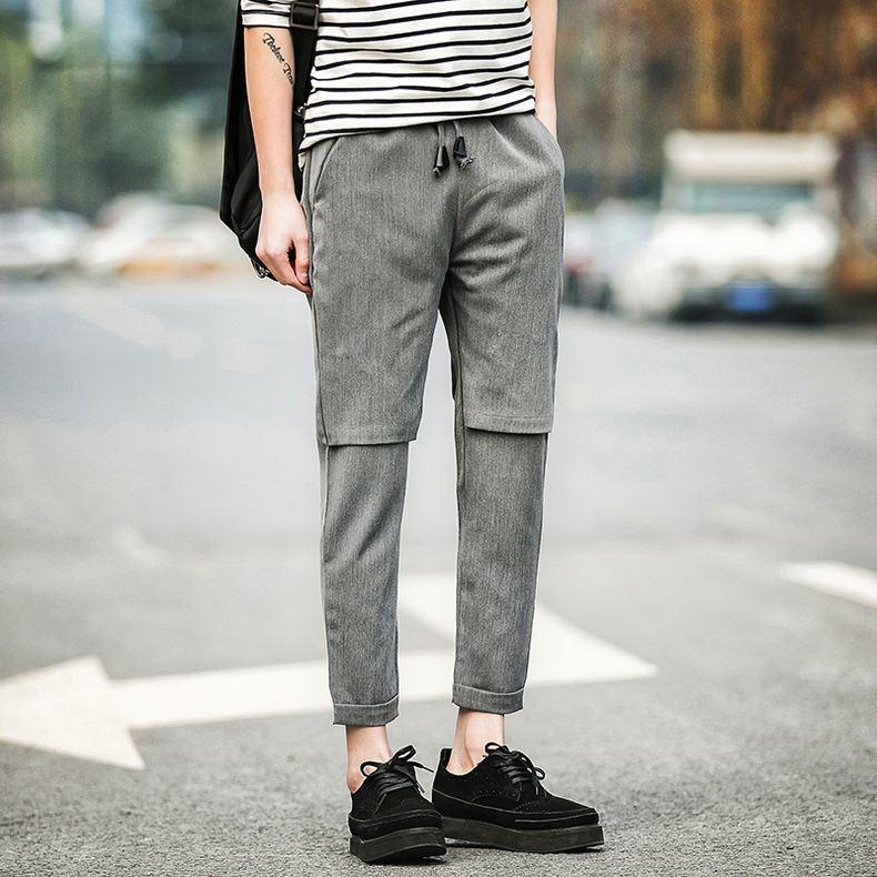 160cm段位的男生这样搞,发型穿搭一起上,增高