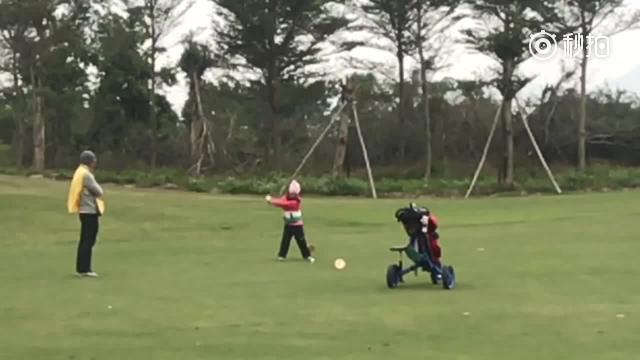 视频-刘国梁女儿一号木挥杆赏析 击球扎实落点精准