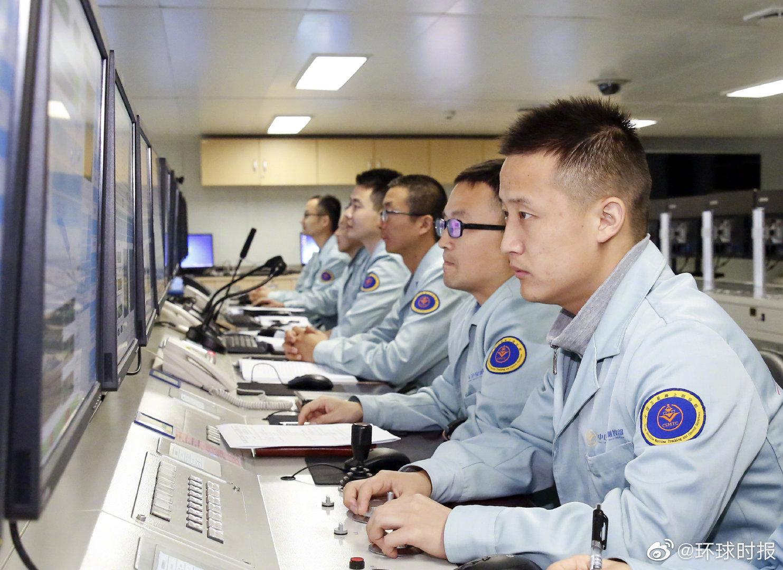 遠望5號船圓滿完成長征五號B型運載火箭海上測控任務圖片