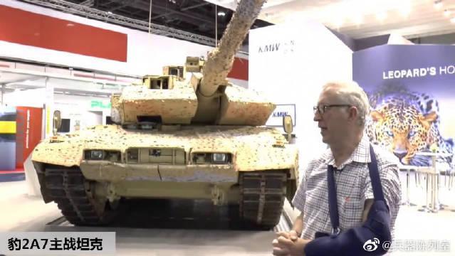 """德国豹2a7_德国克劳斯-玛菲·威格曼公司公司研制的最新型""""豹""""2A7主战 ..."""