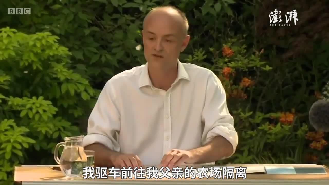 英首相顾问回应隔离期出行:不后悔不辞职