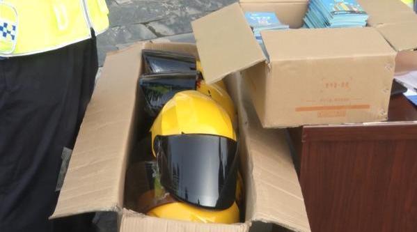 武汉江夏推共享头盔 :登记后免费使用一周