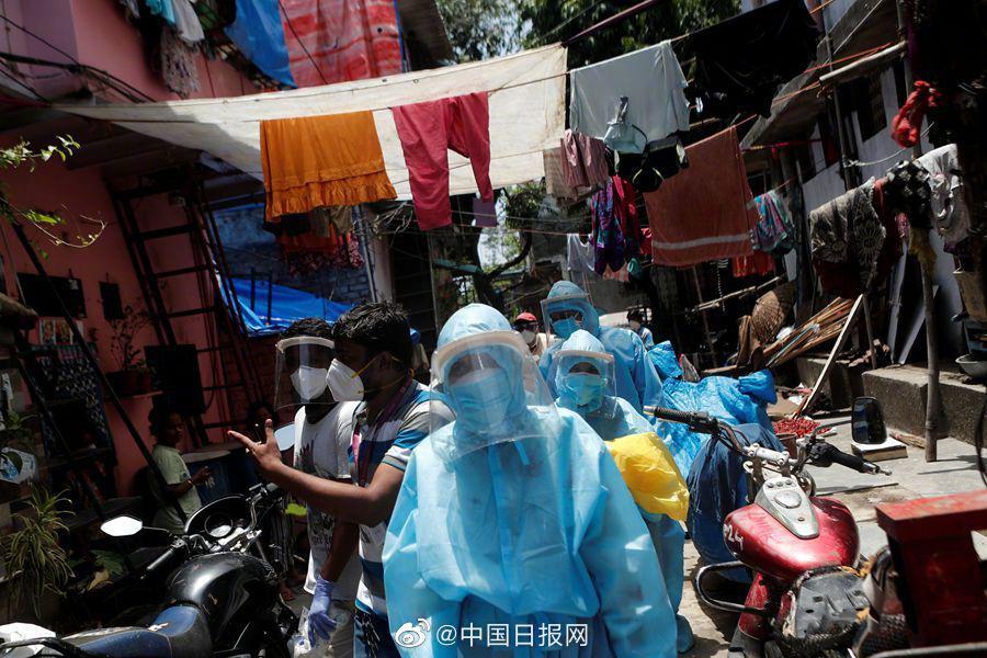 最新研究:印度孟买贫民窟超半数人感染新冠病毒