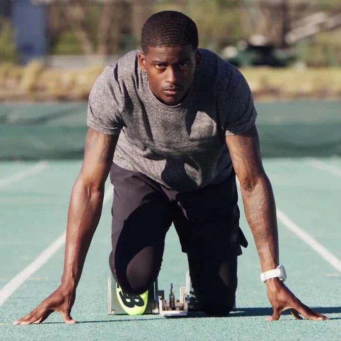 布罗梅尔百米超风速9.87秒,新锐200米跑19.80秒┇视频