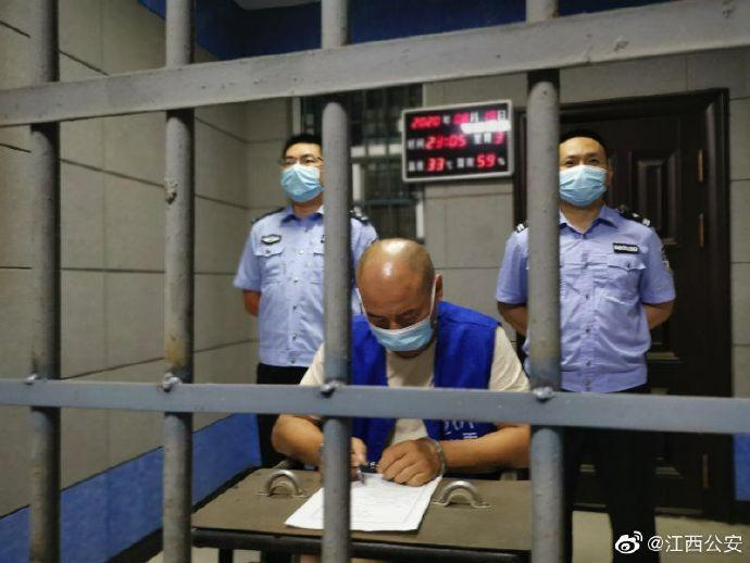 犯罪嫌疑人曾春亮被依法执行逮捕