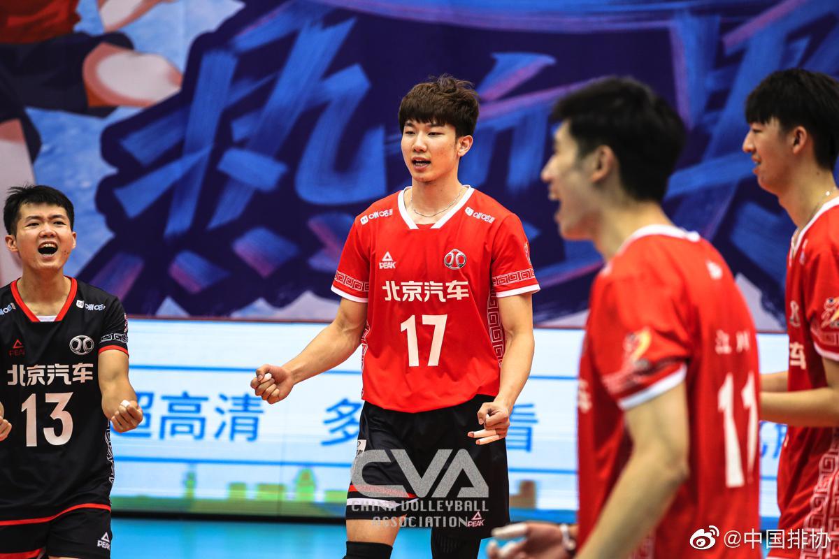 北京男排3-0四川获联赛第五 四