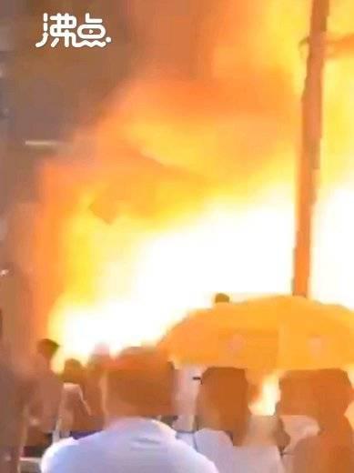珠海一酒店附近发生爆炸,已搜救出多名伤者