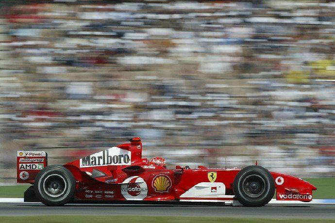 F1  维特尔:最喜欢F2004无奈太贵