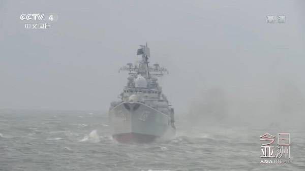 中国人民自在军在台海伸开实习