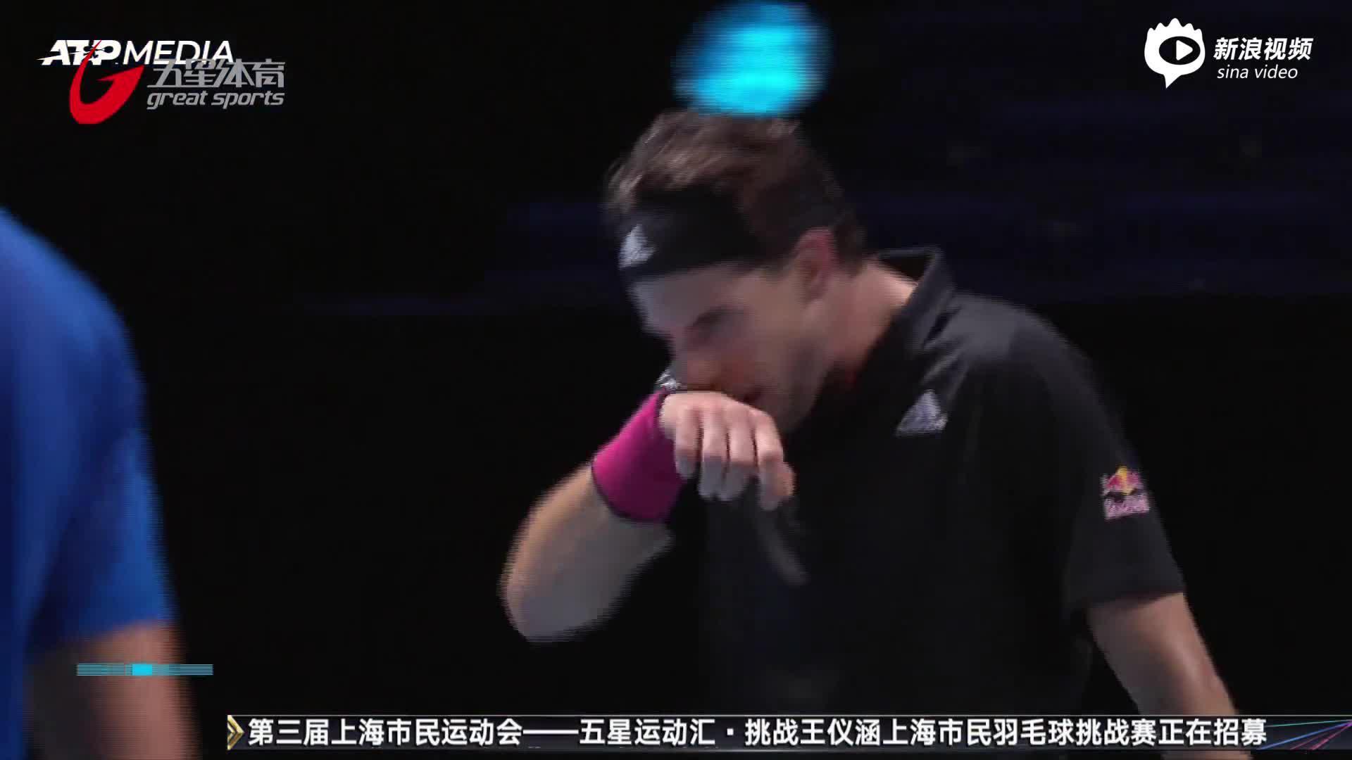 ATP年终总决赛:蒂姆力克德约 连续两年跻身争冠战