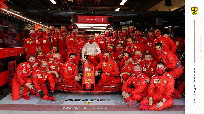 维特尔在法拉利车队最重要的同伴:赛道工程师