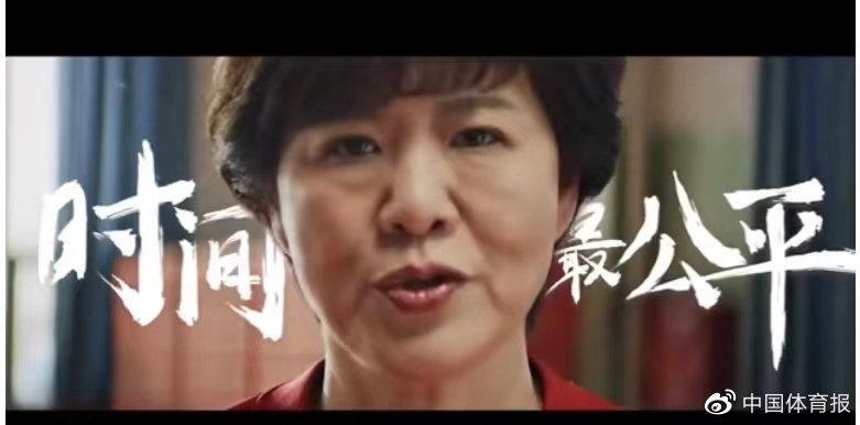 郎平在其个人交际媒体上发布了一则视频短片