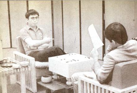 1985年聂卫平对阵小林光一