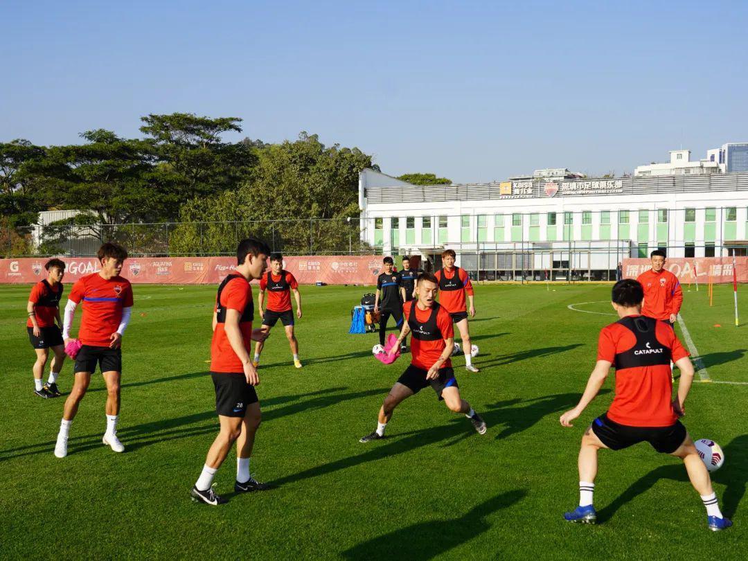 深足二阶段冬训首日:体能+有球强度升级 克帅回归