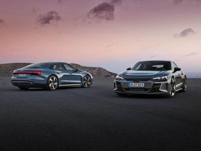 奥迪e-tron GT全球首发亮相 今年国内上市