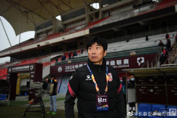 陈洋:亚泰在中超站稳脚是刚需 更大目标为长春战斗