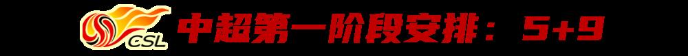 【博狗体育】40强赛前中超由踢7轮改为5轮 揭幕战拟定两套方案