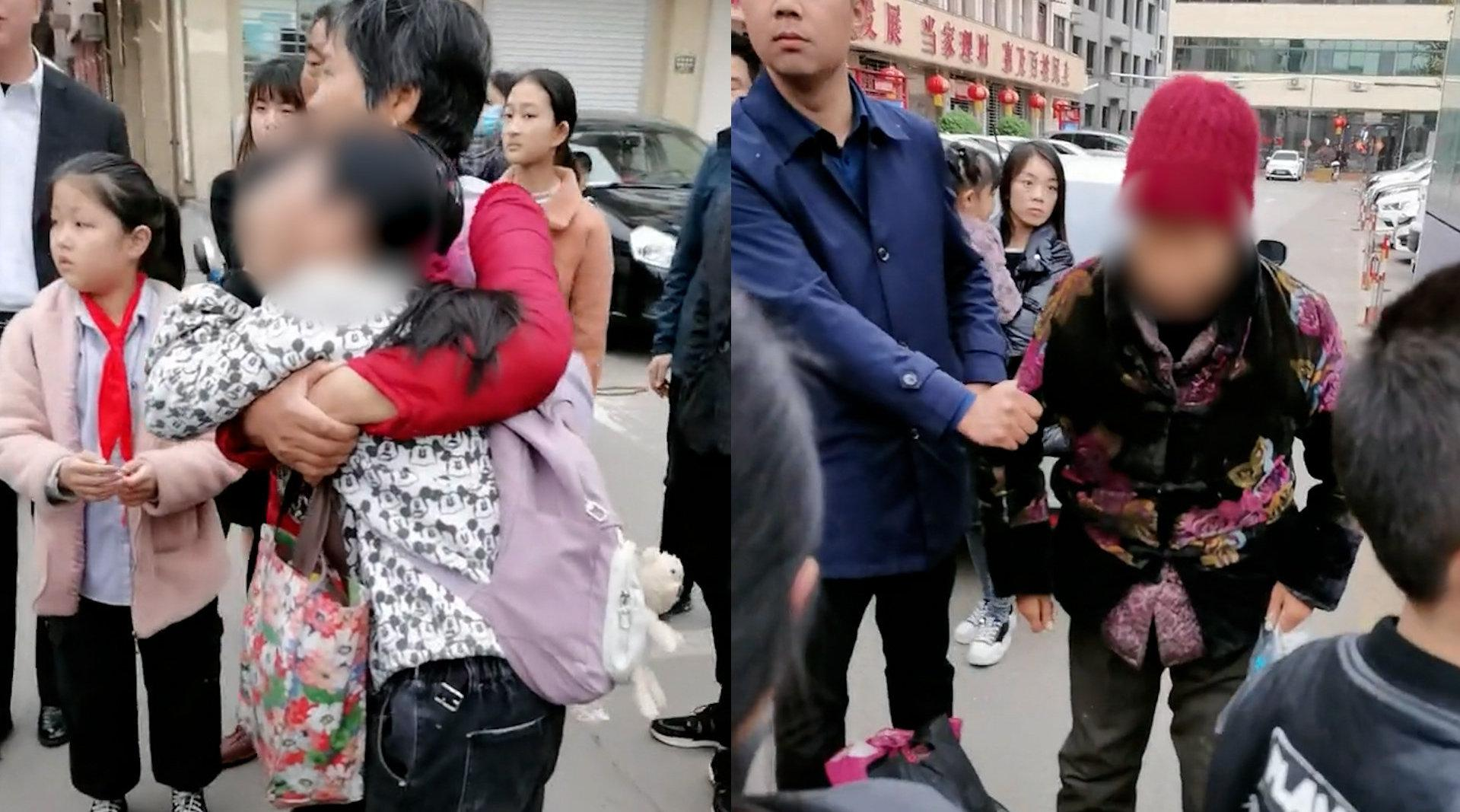 河南一小学生眼睛被老妇扎出血 校方:警方已介入
