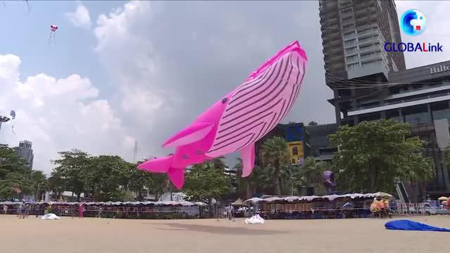 全球连线|疫情下的宋干节:来芭提雅海滩放风筝吧